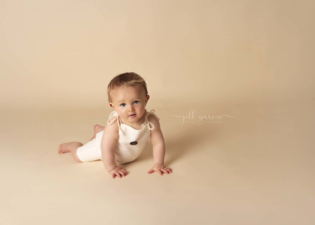 Photograph of Baby 8 Months old at photography studio Edinburgh