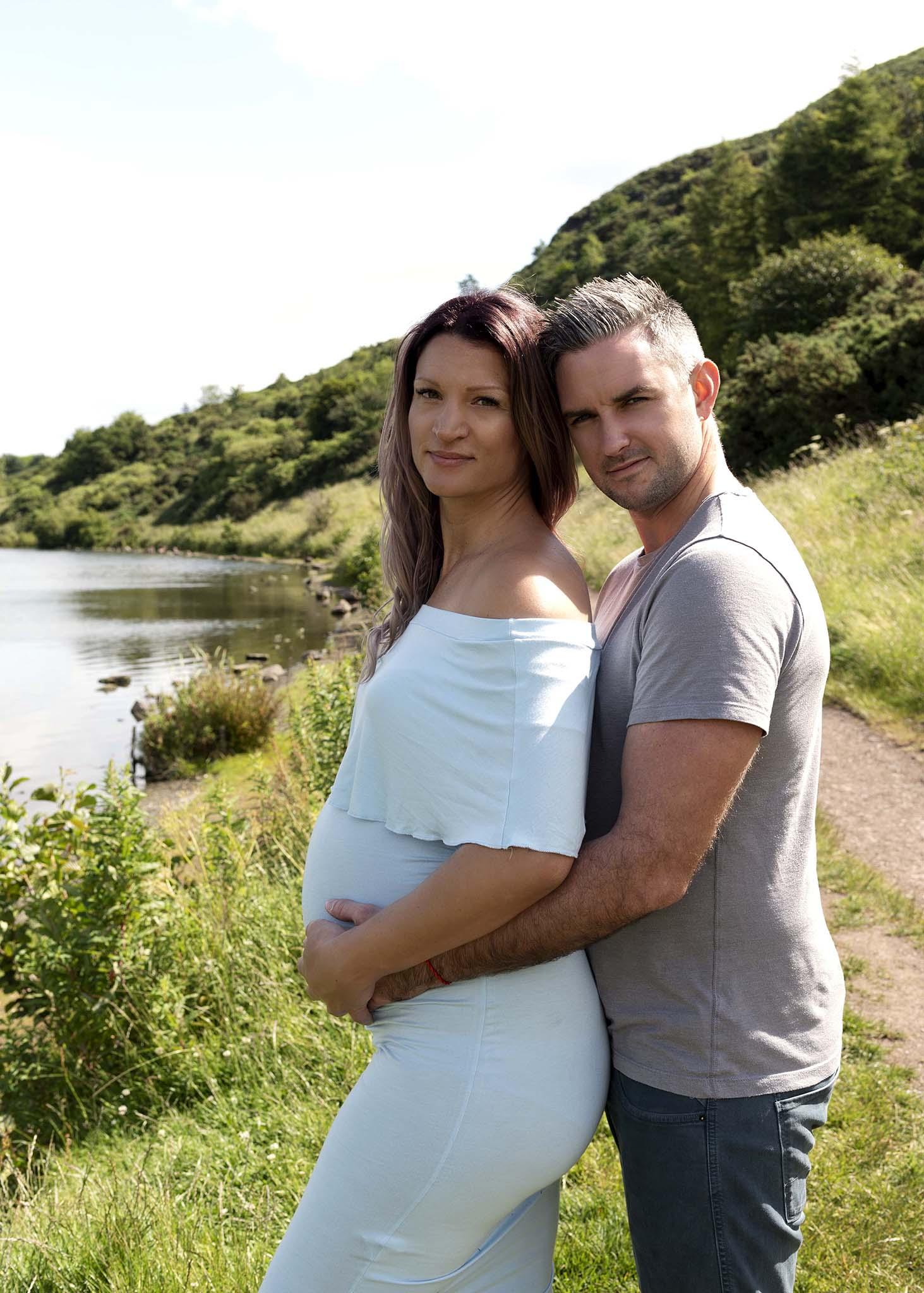 Maternity Photograph Pregnant Mother Photography Studio Edinburgh